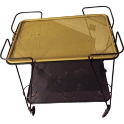 Serving trolley table, Mathieu MATEGOT - 1950s
