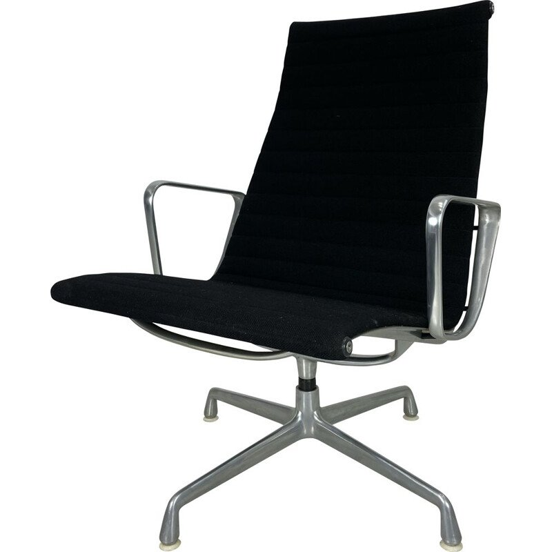 Vintage EA 115 desk armchair by Charles and Ray Eames for Herman Miller, 1970s