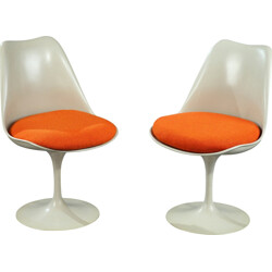"Pair of Knoll ""Tulipe"" chairs, Eero SAARINEN - 1956"