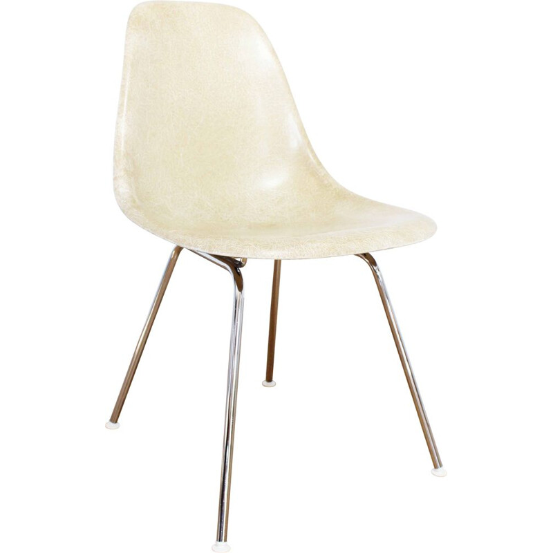 Vintage DSX chair in fiberglass by Eames for Interform, 1970
