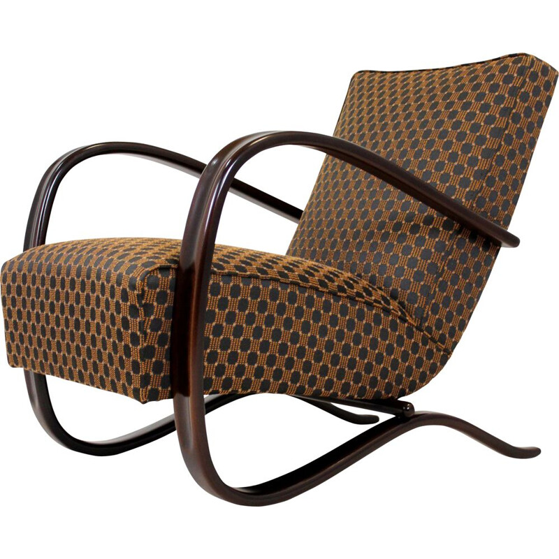 Mid-century Model H-269 armchair by Jindřich Halabala for UP Závody, 1930s