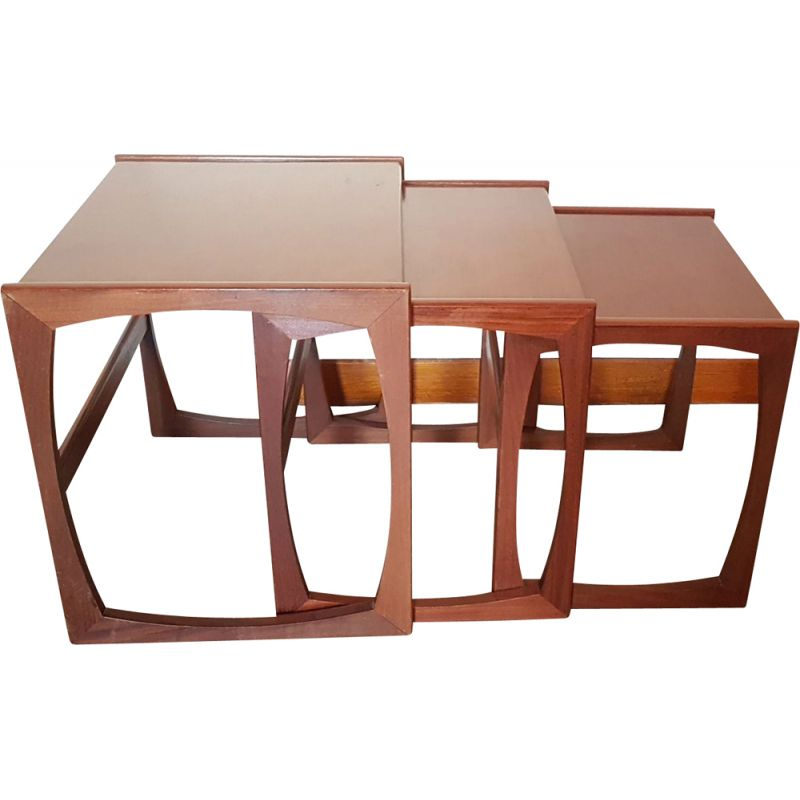 Vintage G-Plan nesting tables by Victor Wilkins, 1960s