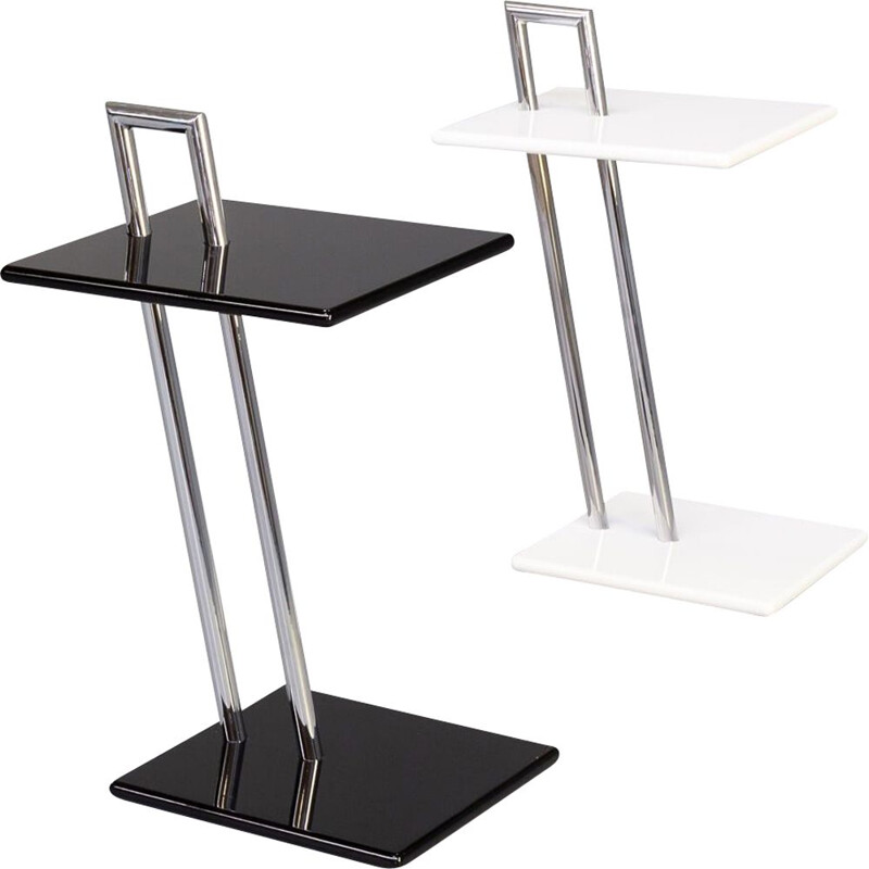 Pair of vintage occasional side table by Eileen Gray for ClassiCon, 1930s