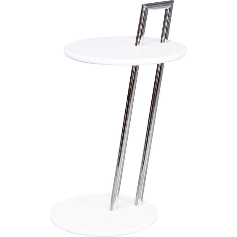 Mid-century round 'E 1027' occasional side table by Eileen Gray for ClassiCon, 1930s