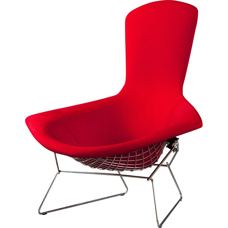 Bird Chair with Ottoman by Harry Bertoia for Knoll