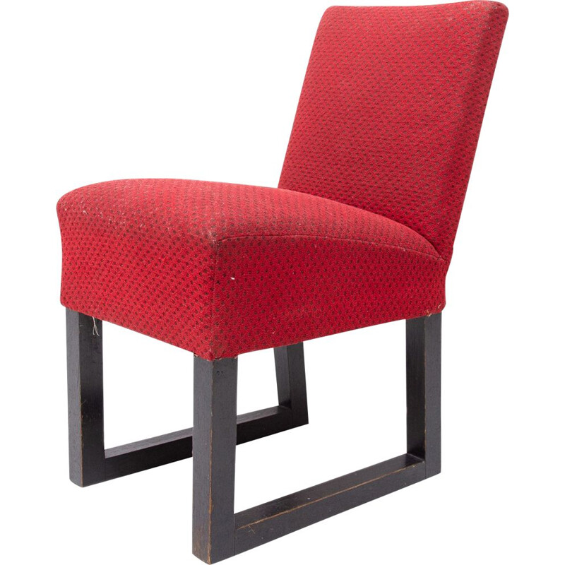 Mid-century side chair by Josef Hoffmann, Central Europe 1920s