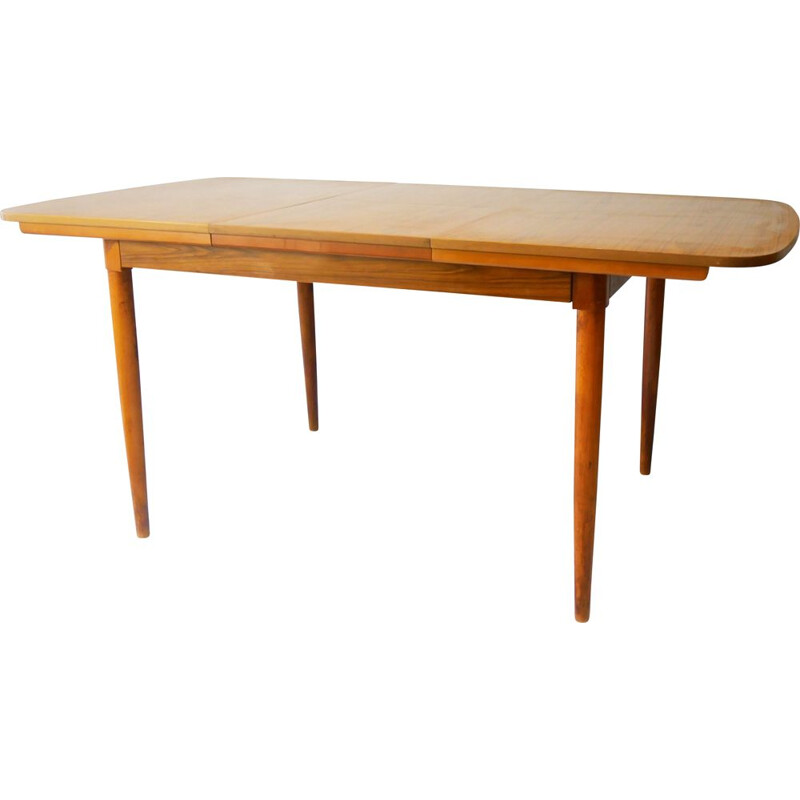 Mid-century extending dining table by Schreiber, 1970s