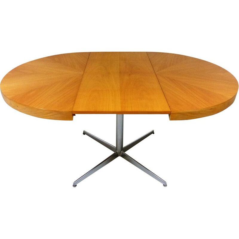 Vintage retractable dining table, 1960s