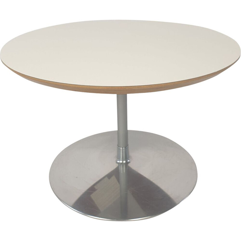 Vintage round coffee table by Pierre Paulin for Artifort, 1960s