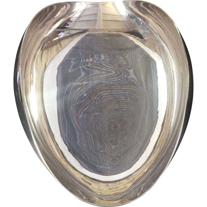 Vintage FALA cup in silver plated metal by Guido Niest