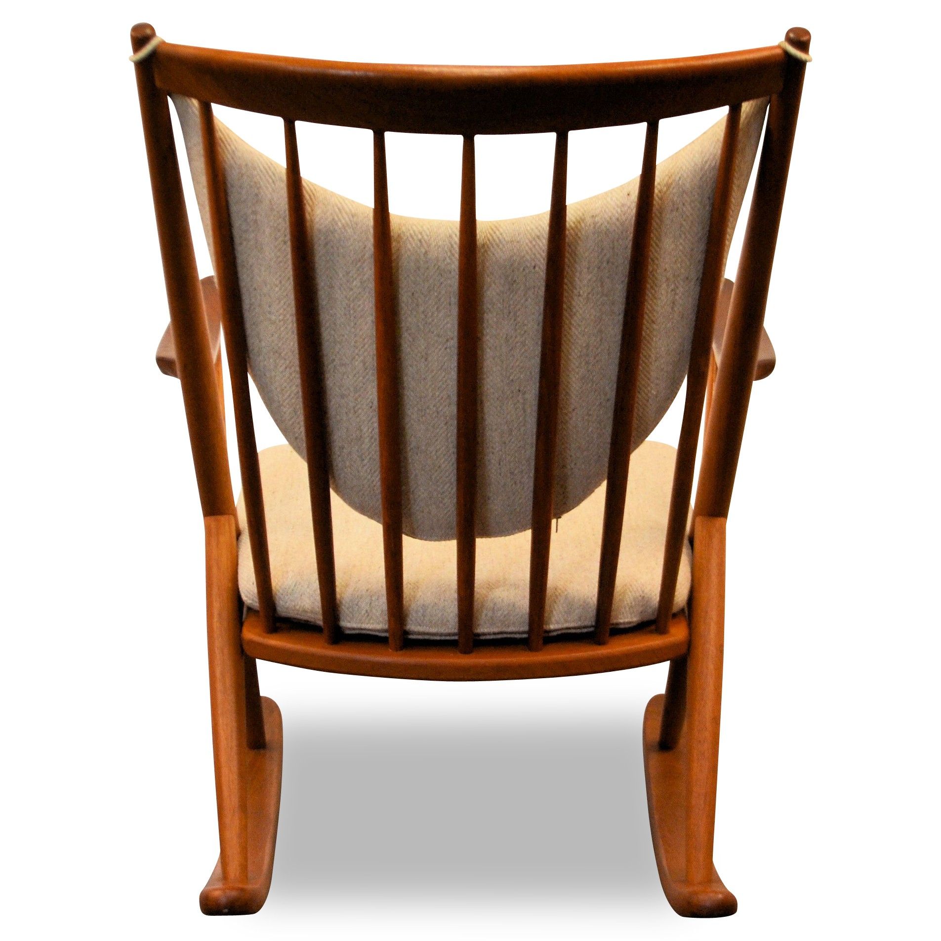 Frank reenskaug rocking chair - Danish Bramin Rocking Chair In Oak And Teak Frank Reenskaug 1950s Previous Next