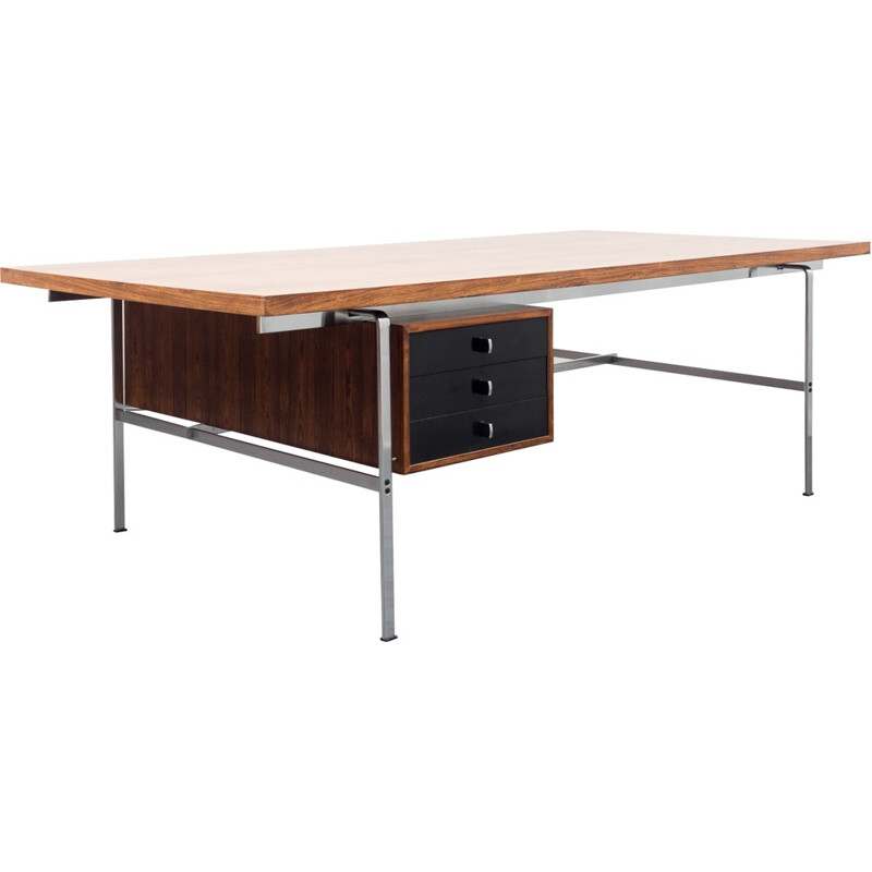 Kill International desk in rosewood, P. FABRICIUS & J.KASTHOLM - 1960s
