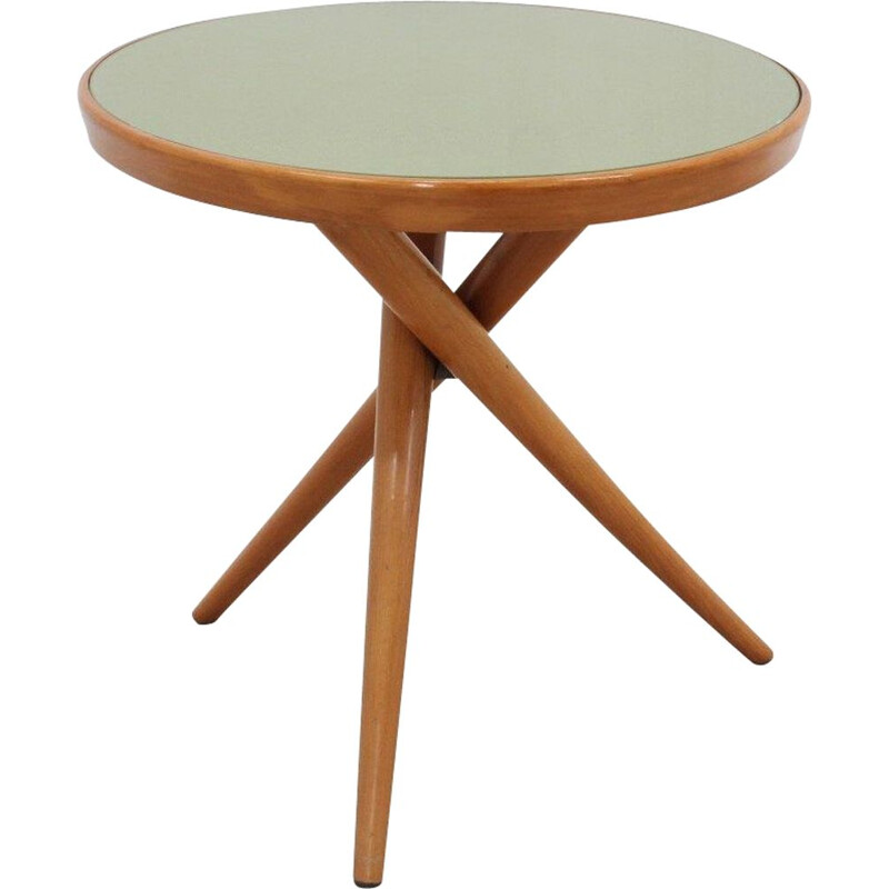 Mid century tripode coffee table by Cesare Lacca, 1950s