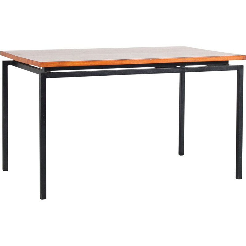 Vintage extendible dining table, Netherlands 1950s