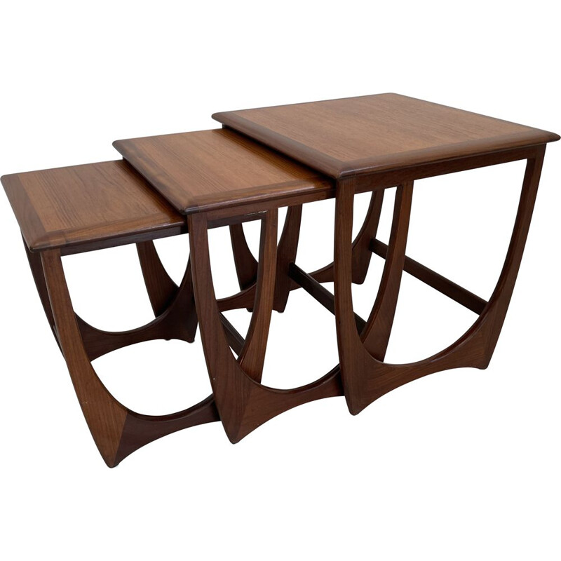 Vintage nesting tables by V.Wilkins for G-PLan, England 1960s
