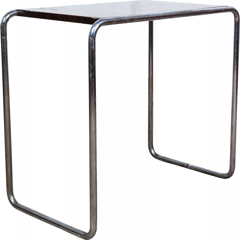 Vintage Thonet B 9 side table by Marcel Breuer