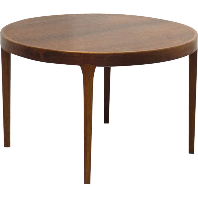 Vintage extendable rosewood dining table by Gudme Møbelfabrik