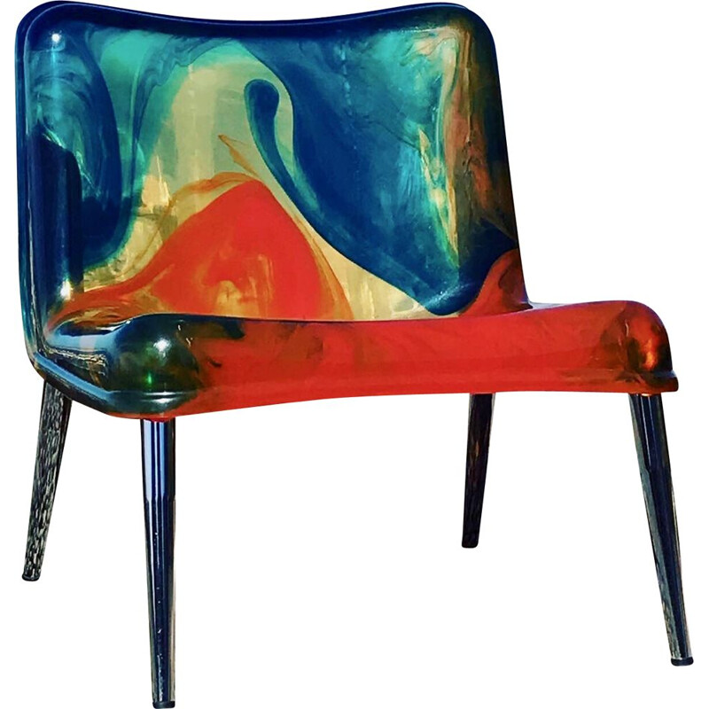 Chaos vintage armchair by Pepe Tanzi, Italy 1990
