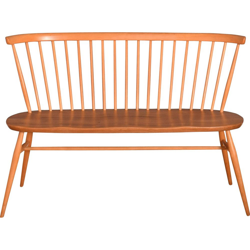 Vintage blonde model 450 bench by Ercol, 1960s