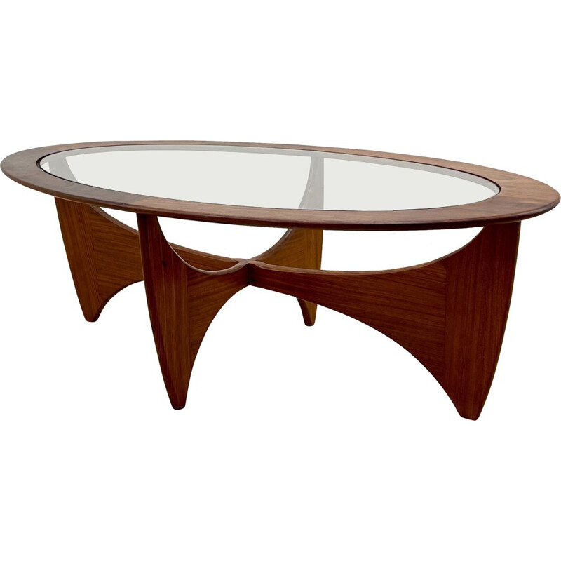 Mid century Astro solid teak coffee table by Victor Wilkins for G Plan, 1960s
