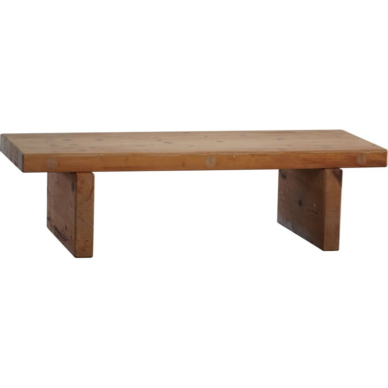 Swedish vintage bench in pine model Bambse by Roland Wilhelmsson, 1973