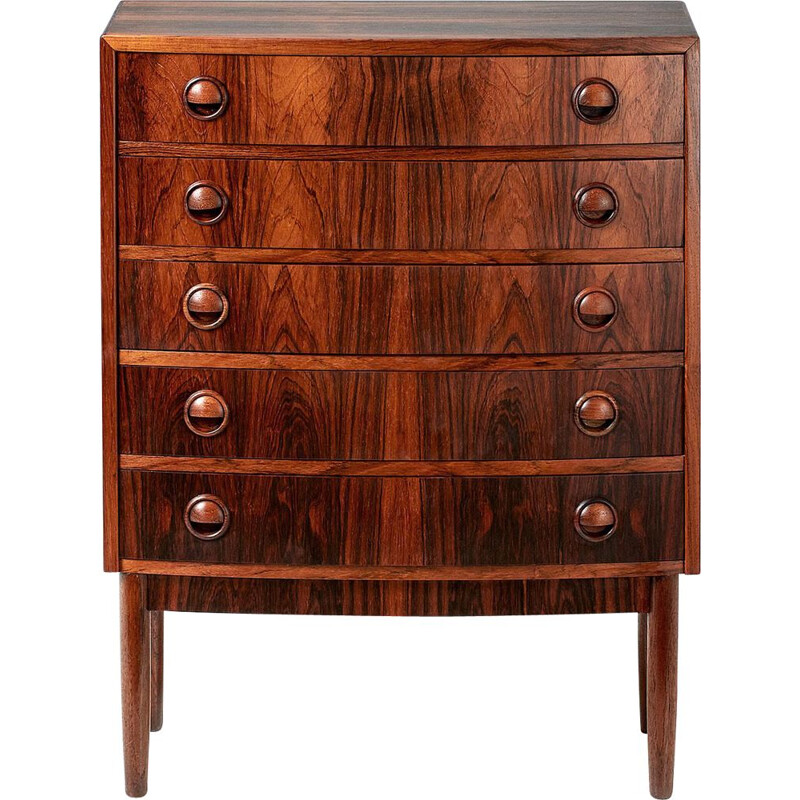 Mid century rosewood chest of drawers by Kai Kristiansen