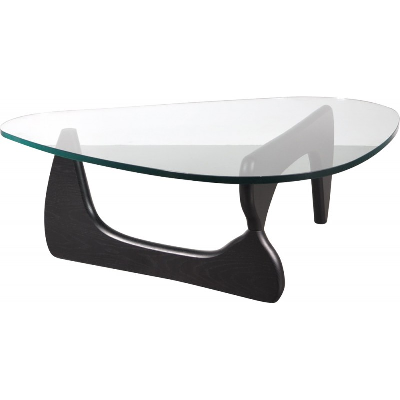 Herman Miller Glass Coffee Table, Isamu NOGUCHI   1980s