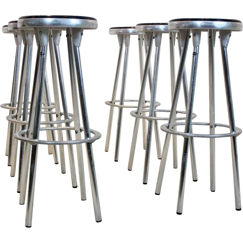 Vintage industrial bar stools  by Joan Casas I Ortinez for Indecasa Spain