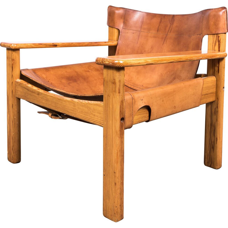 Mid-century Natura lounge chair by Karin Mobring, 1977