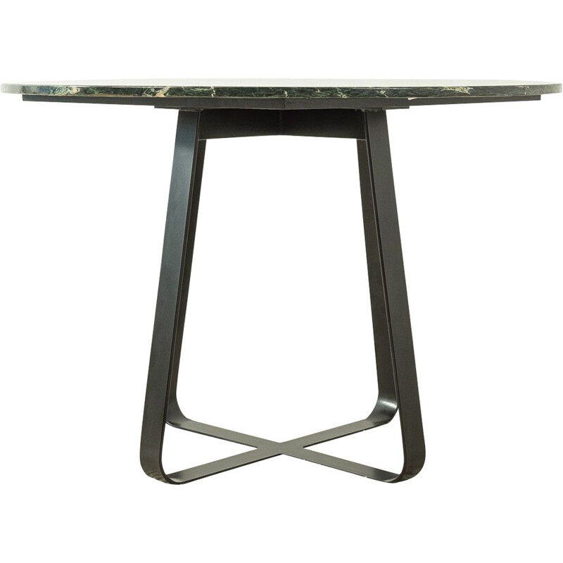 Mid-century marble dining table Ø 110, Germany 1960s