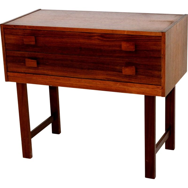 Vintage rosewood chest of drawers, Sweden 1960