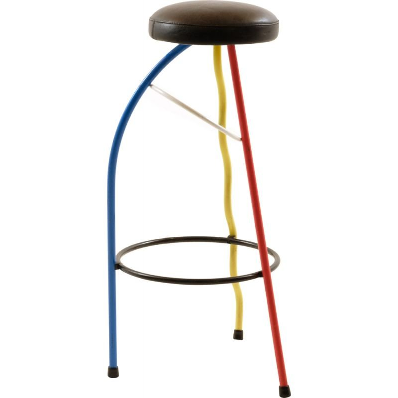 Vintage Duplex stool by Javier Mariscal for BD, 1980s