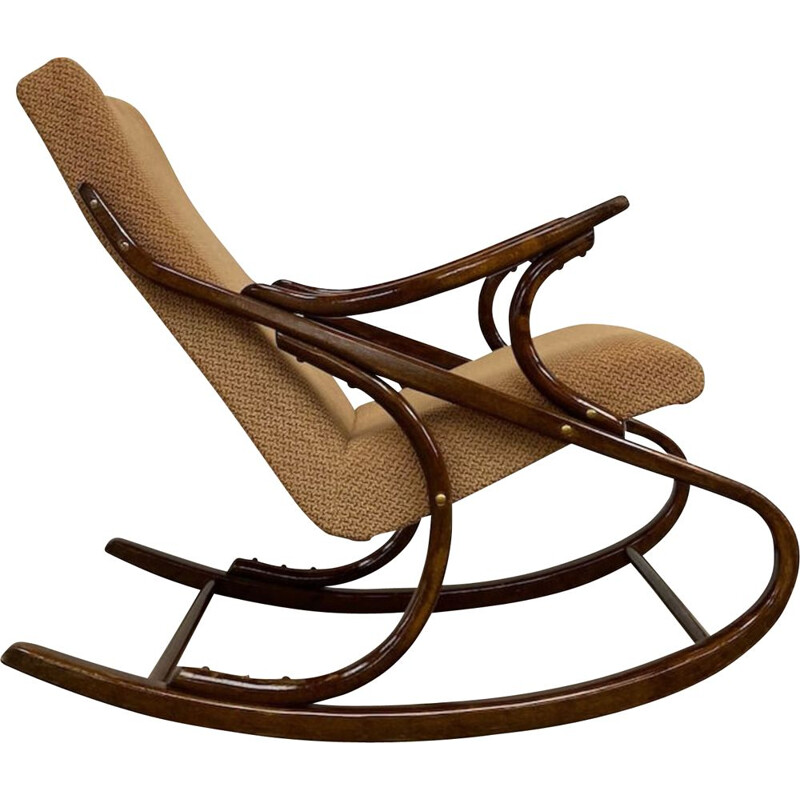 Vintage rocking chair by TON, CZ 1980s