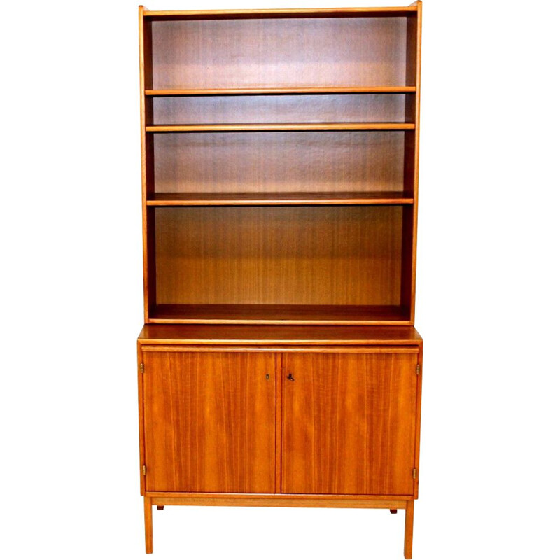 Vintage chest of drawers and bookcase, Sweden 1960