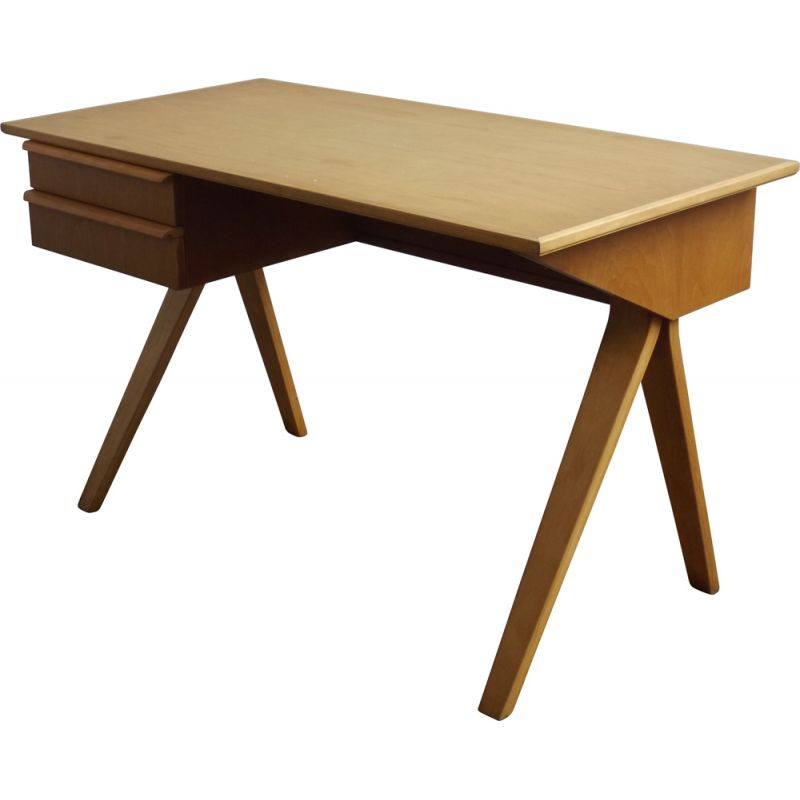 Vintage writing desk by Cess Braakman for Pastoe
