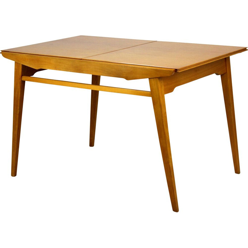 Extendable oakwood dining table from Tatra, 1960s