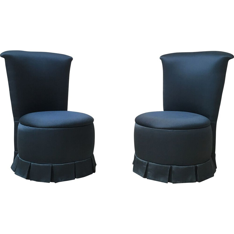 Pair of vintage cocktail chairs