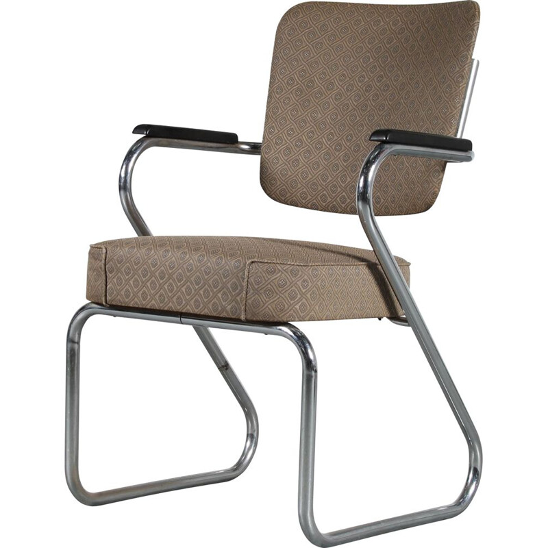 Vintage office armchair by Paul Schuitema for Fana, Netherlands 1950s