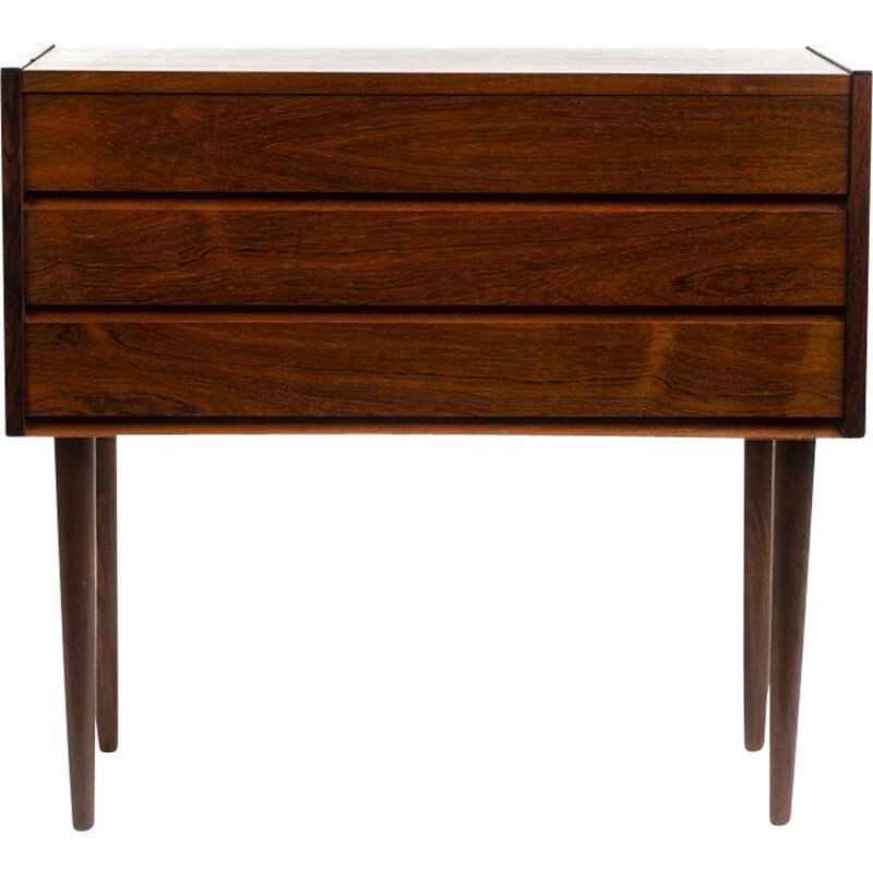 Mid century rosewood chest of drawers, Denmark 1960s