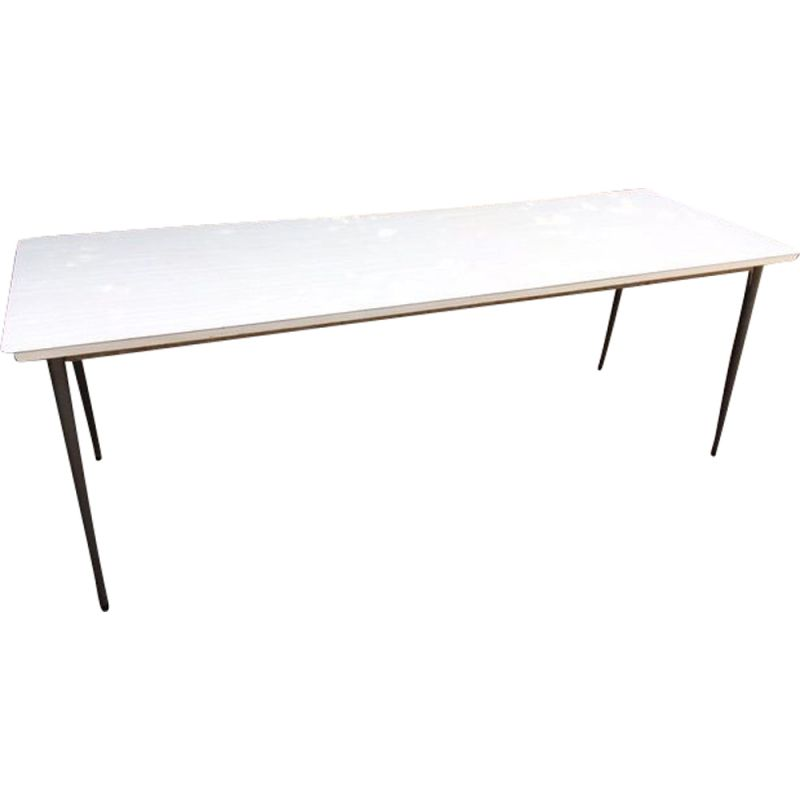 Vintage canteen table in formica, 1960