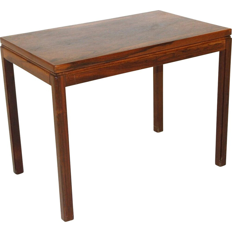 Mid century rosewood side table for HMB, Sweden 1960