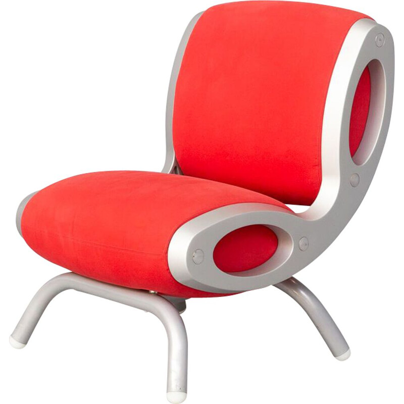 Vintage Gluon armchair by Marc Newson for Moroso, 1990s