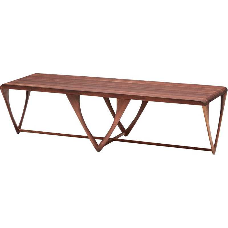 American vintage coffee table for Craft Studio, 1970s