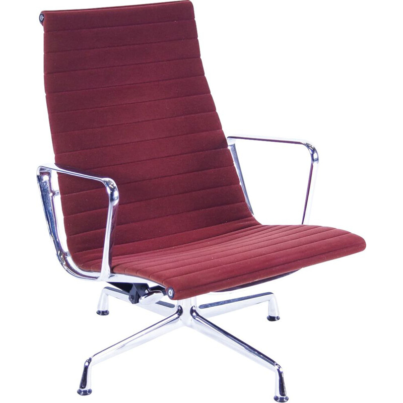 Vintage EA 124 armchair by Vitra Eames, 1980s