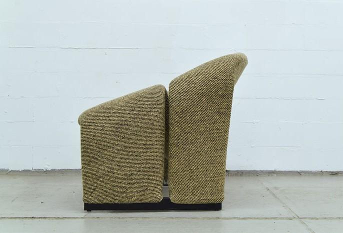 artifort groovy armchair in fabric pierre paulin 1966. Black Bedroom Furniture Sets. Home Design Ideas