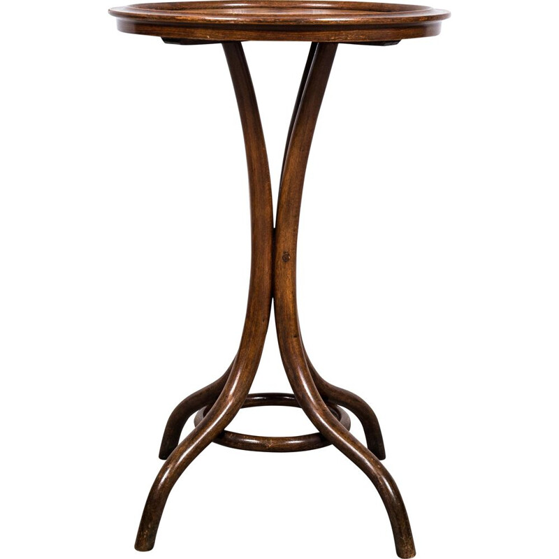 Bentwood vintage Thonet No. 3 side table