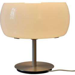 Erse table lamp in metal and opal glass, Vico MAGISTRETTI - 1960s
