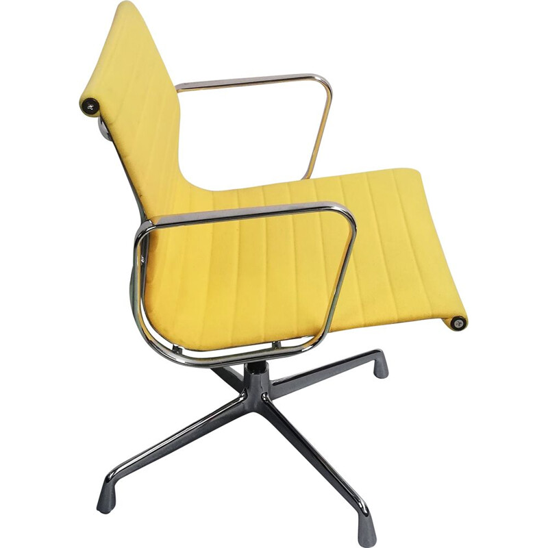 Vintage armchair EA107 by Charles Eames for Vitra