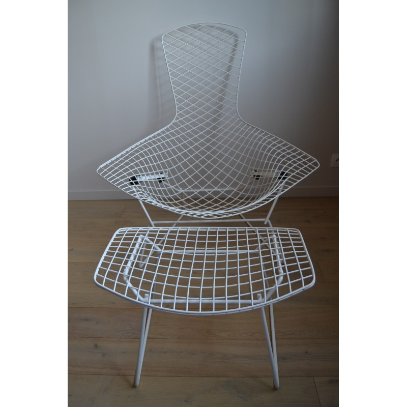 Knoll Bird Armchair And Footrest H Bertoia 1950s Design Market