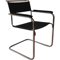 "Armchair ""B34"" in canvas, Marcel BREUER - 1930s"